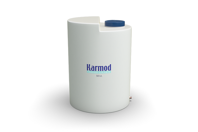 50 litre dik su deposu beyaz renk