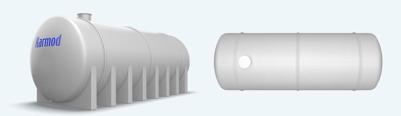 3. Havalimanına 60 Ton Polyester Su Deposu