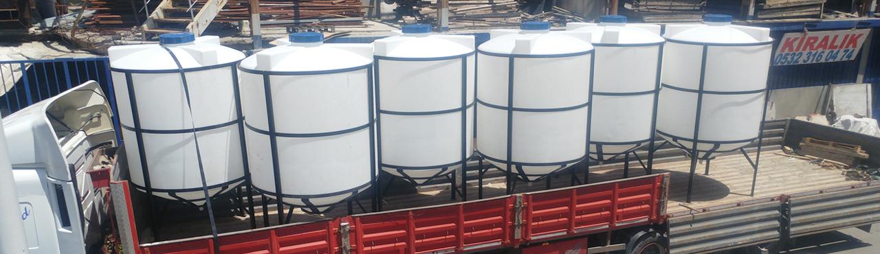 Çökeltme Tankı ve Polyester Silo Tank Üretimleri
